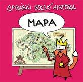 Opráski sčeskí historje - mapa
