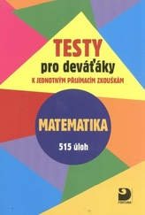 Testy pro deváťáky Matematika 515 úloh