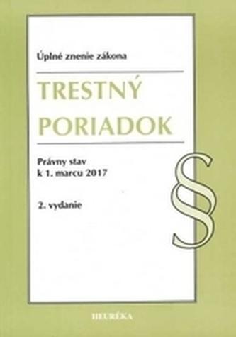 Trestný poriadok. Úzz, 2. vydanie - Kolektív autorov