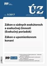 Úplne znenia zákonov 5-2017