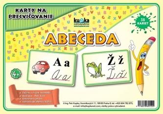 Karty na precvičovanie - abeceda - Kupka Petr