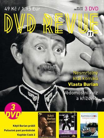 DVD Revue 11 - 3 DVD - autor neuvedený