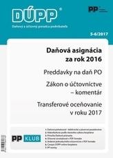 Daňový a účtovný poradca podnikateľa 5,6-2017