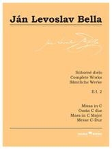 Missa in C (Súborné dielo, E:I, 2)