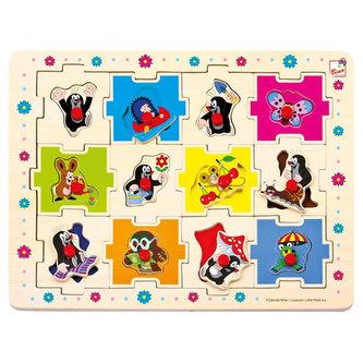 Krtek - Puzzle tvary/24 dílků - Marika Hellstrom-Kennedy