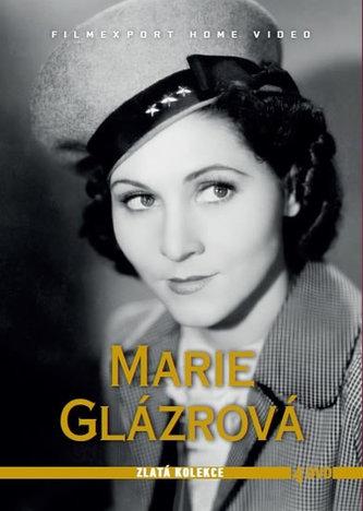Marie Glázrová - Zlatá kolekce - 4DVD - autor neuvedený
