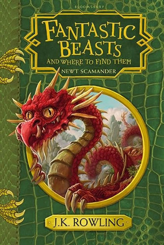 Fantastic Beasts and Where to Find Them - Hogwarts Library Book - Rowlingová Joanne Kathleen