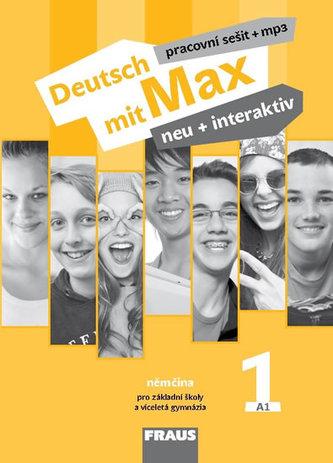 Deutsch mit Max neu + interaktiv 1 - Pracovní sešit - Tvrzníková Jana