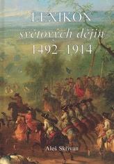 Lexikon světových dějin 1492 - 1914