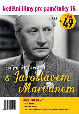 Nedělní filmy pro pamětníky 15. - Jaroslav Marvan - 2 DVD pošetka - neuveden