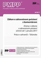 PMPP 8/2017 Zákon o zdravotnom poistení s komentárom