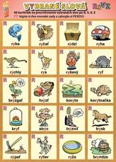 Vybrané slová po R, S, V, Z
