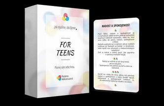 Karty For TEENS - Jak myslíme, tak žijeme
