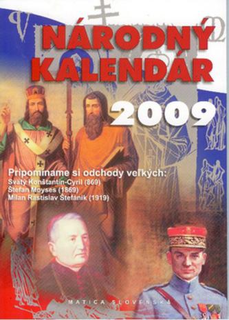 Národný kalendár 2009 - D. Hrubal'a a kolektív autorov