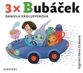 3x Bubáček (audiokniha pro děti)