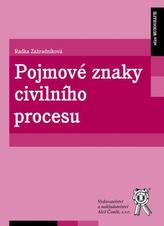 Pojmové znaky civilního procesu