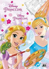 Disney Princezna - Omalovánky A4