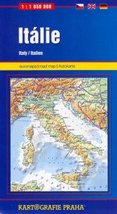 Itálie, 1:1 050 000 (automapa)