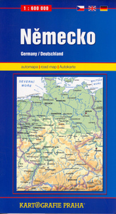 Německo, 1:600 000 (automapa)