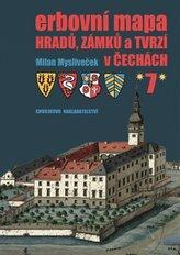 Erbovní mapa hradů, zámků a tvrzí v Čechách 7
