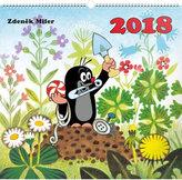 Kalendář nástěnný 2018 - Krteček, 48 x 46 cm
