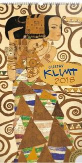 Kalendář nástěnný 2018 - Gustav Klimt