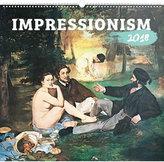 Kalendář nástěnný 2018 - Impresionismus