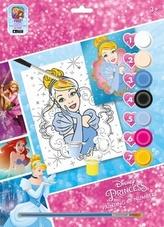 Maľovanie podľa čísel A4 Princezné