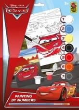 Maľovanie podľa čísel A4 Cars
