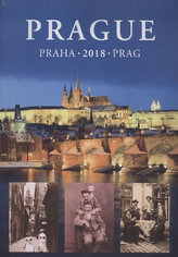 Kalendář nástěnný 2018 - Praha, 24,5 x 34 cm