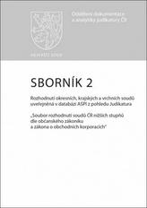 Sborník 2 Rozhodnutí okresních, krajských a vrchních soudů uveřejněná