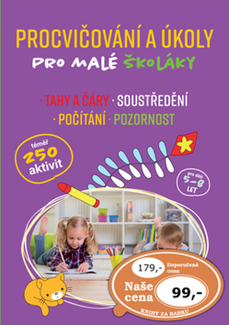 Procvičování a úkoly pro malé školáky