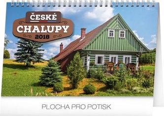Kalendář stolní 2018 - České chalupy , 23,1 x 14,5 cm - neuveden