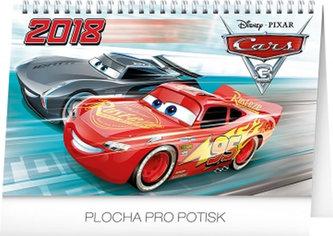 Kalendář stolní 2018 - Cars, 23,1 x 14,5 cm - neuveden