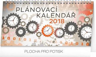 Kalendář stolní 2018 - Plánovací, 25 x 12,5 cm - neuveden