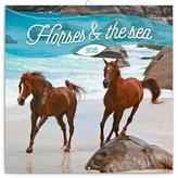 Kalendář poznámkový 2018 - Koně a moře – Christiane Slawik , 30 x 30 cm