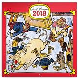 Kalendář poznámkový 2018 - Josef Lada – Řemesla, 30 x 30 cm