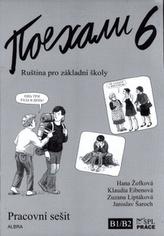 Pojechali 6 pracovní sešit ruštiny pro ZŠ