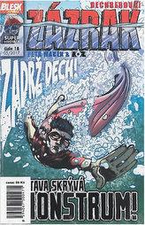 Blesk komiks 18 - Dechberoucí zázrak - Vltava skrývá monstrum 05/2017