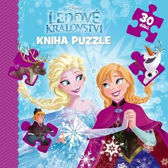 Ledové království - Kniha puzzle 30 dílků