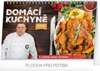 Kalendář stolní 2018 - Domácí kuchyně, 23,1 x 14,5 cm - neuveden