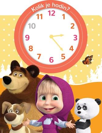 Máša a medvěd Kolik je hodin? - Kolektiv autorů
