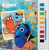 Hľadá sa Dory Vymaľ. s vodovými farbami