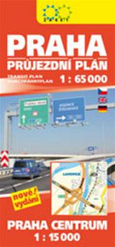 Praha průjezdní plán
