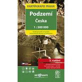 Podzemí Česka/1:500 tis.(tematická mapa)