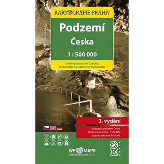 Podzemí Česka/1:500 tis.(tematická mapa) - neuveden