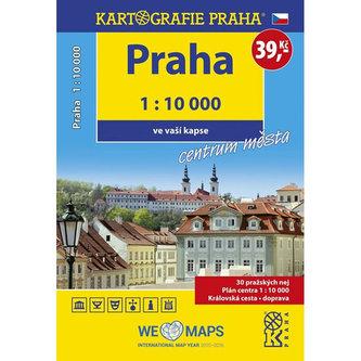 Praha - 1:10 000 ve vaší kapse centrum města - neuveden