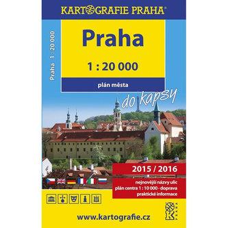 Praha do kapsy - plán města 1:20 000 - neuveden