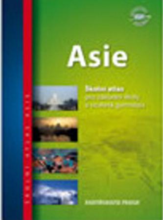 Školní atlas/Asie, 3.vydání - neuveden