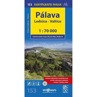 Pálava, Lednice-Valtice 1:70 000 - neuveden